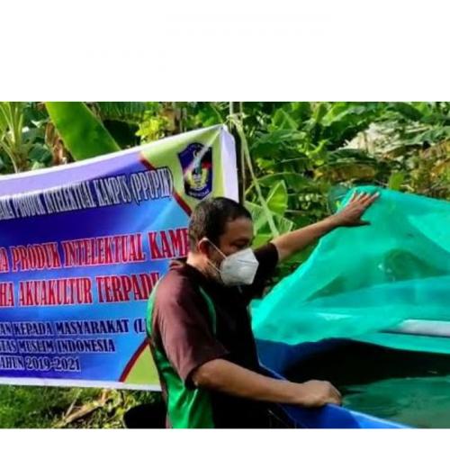 UMI Kembangkan Usaha PPUPIK Berbasis Akuakultur Terpadu di Pangkep
