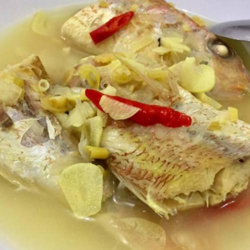 Resep Ikan Kakap Merah Kuah Asam Khas NTT