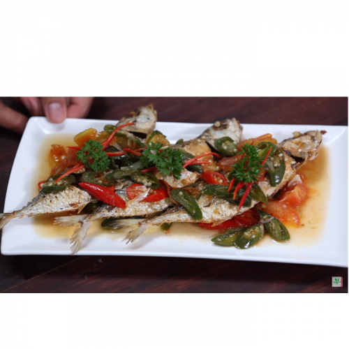 Resep Ikan Kembung Cabai Hijau