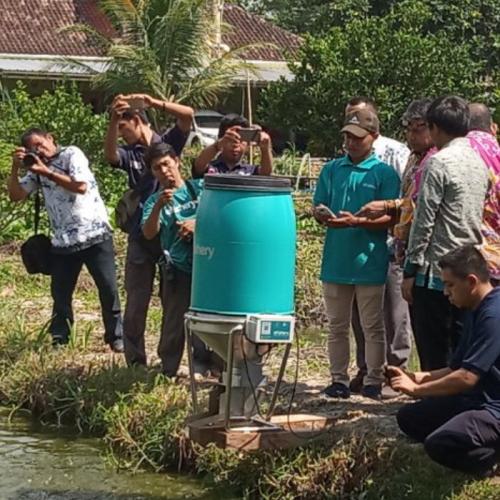 Kampung Teknologi Perikanan Hadir di Lampung Selatan
