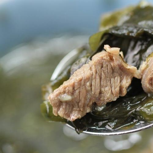 Resep Sup Rumput Laut