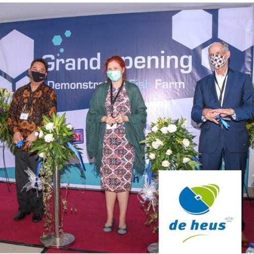 De Heus Sebagai Salah Satu Mitra yang Berkontribusi Pada Program Fish Tech Indonesia