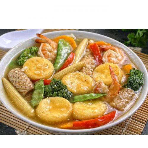 Resep Sapo Seafood
