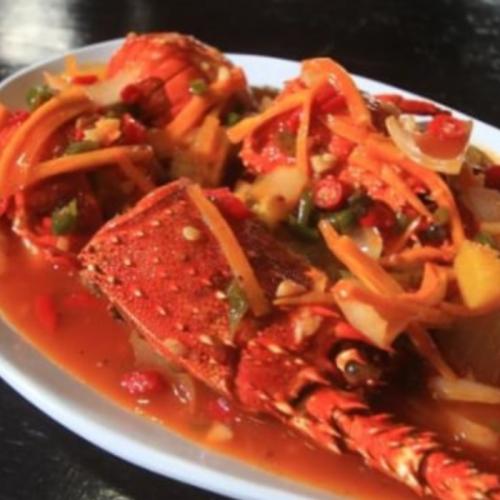 Resep Lobster Asam Manis