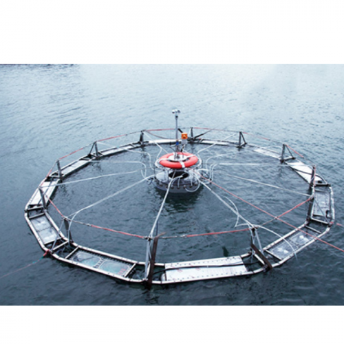 Automatic Submersible Fish Cage Systems Counter Weather, Surface Problems