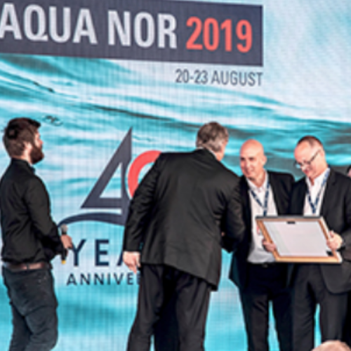 CleanTreat by Benchmark Wins Top Aquaculture Innovation Prize at Aqua Nor