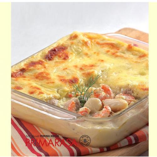 Resep Seafood Lasagna